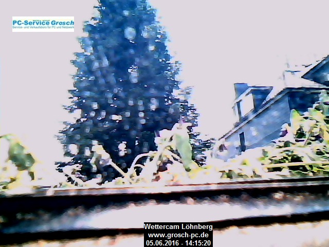 Webcambild: Wettercam vom PC-Service Grosch